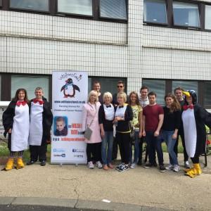 Congratulations Abseil team… over £12,500 raised!!