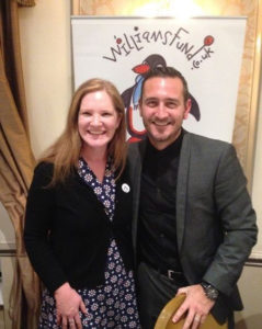 Will Mellor with Dr Helen Townley - William Dodd Research Fellow.
