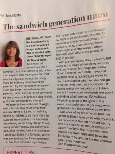 Niki in this month's Woman and Home Magazine!