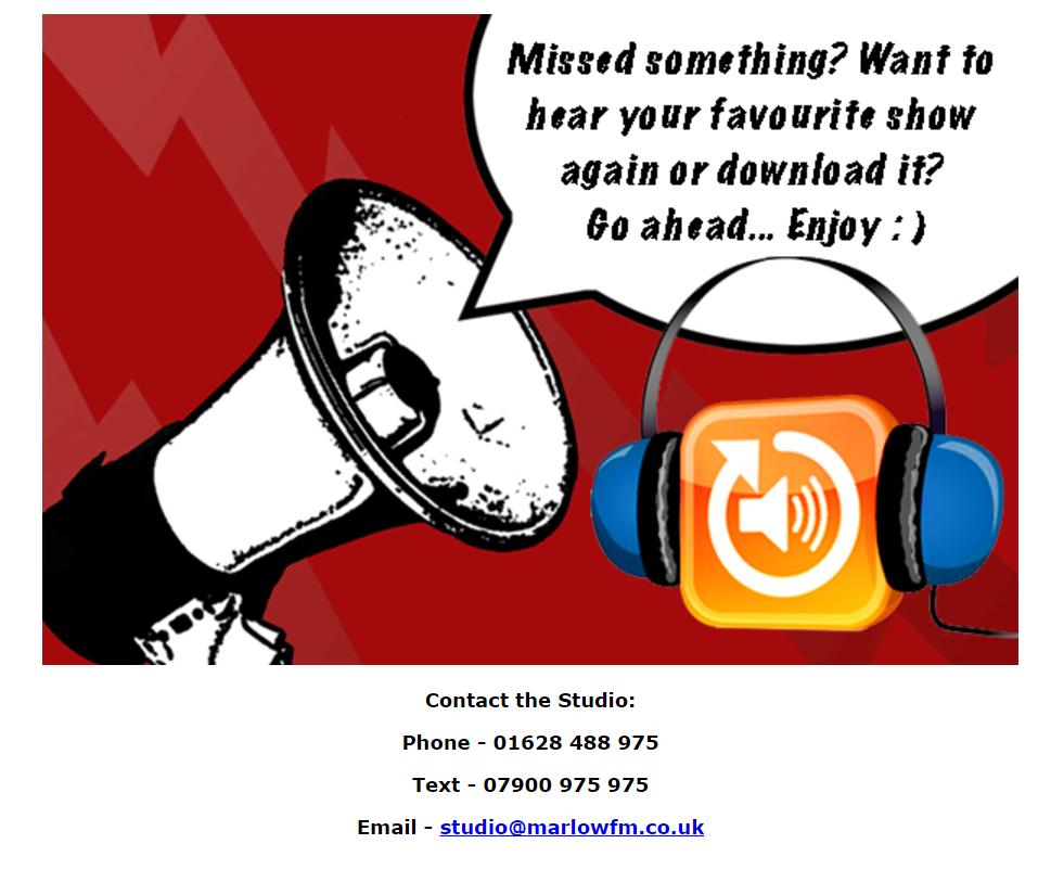 Listen again Marlow FM