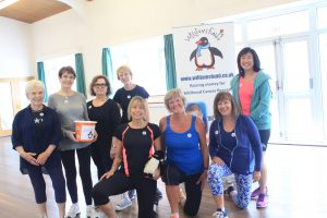 Ladies from Angie's exercise group...