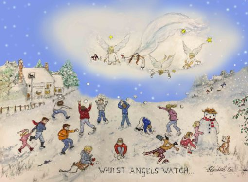 It's here! The 2018 William's FundChristmas Card... already on sale in Activity Chest and Flowers Unique Chalfont St Peter. More stockists and Fair dates coming soon... Available online too!
