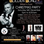 Golden Bond Christmas Party … with Honor Blackman!