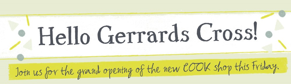 Gerrards Cross welcomes Cook… But who's cutting the ribbon?!