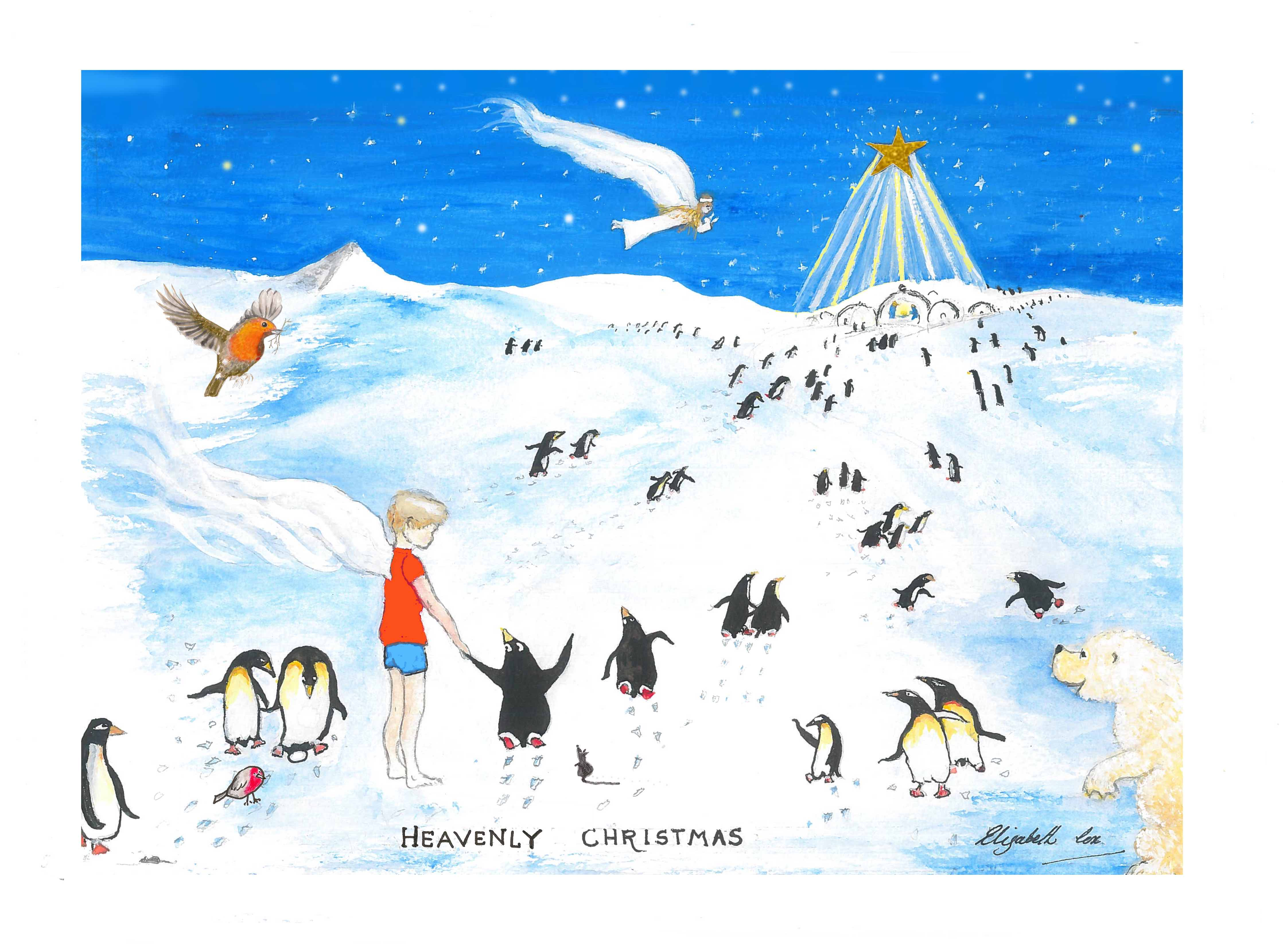 Christmas Greetings To My Sponsor.2019 Christmas Card
